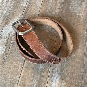 Distressed belt